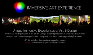 immersive art experience website