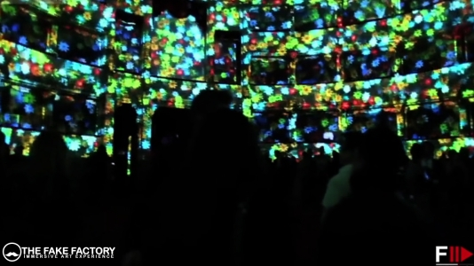 IMMERSIVE ART EXPERIENCE THE FAKE FACTORY DIGITAL ART401