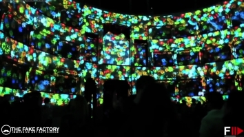 IMMERSIVE ART EXPERIENCE THE FAKE FACTORY DIGITAL ART413