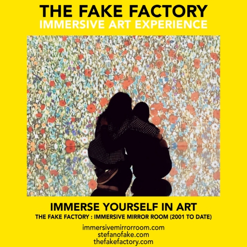 THE FAKE FACTORY immersive mirror room_02022